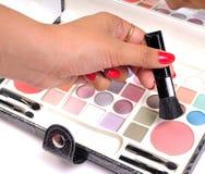 Makeup Artist Hand Stock Photos