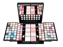 Makeup artist kit Stock Image
