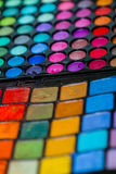 Makeup Artist Professional Color Palette Stock Photography