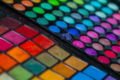 Makeup Artist Professional Color Palette Royalty Free Stock Photo
