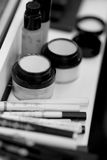 Makeup artist tools Royalty Free Stock Image