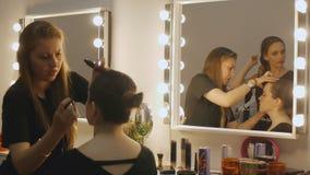 Makeup artysta zakulisowy zbiory wideo