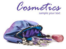 Makeup bag Royalty Free Stock Photos