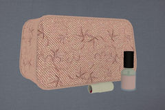 Makeup bag Royalty Free Stock Image