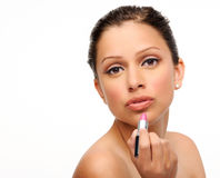 Makeup beauty portrait Royalty Free Stock Photography