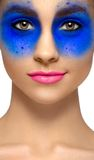 Makeup and beauty theme Royalty Free Stock Photo