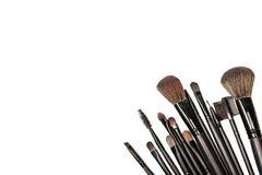 Makeup blush. Background white Stock Photo