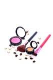 Makeup blushers Stock Photos