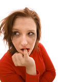 makeup brudna kobieta Zdjęcie Stock