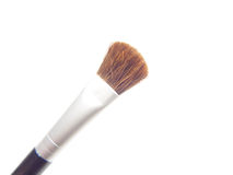 Makeup brush. Closeup of makeup brush isolated on white background Stock Image