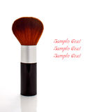 A makeup brush Royalty Free Stock Images