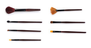 Makeup brush Stock Images