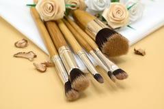 Makeup brush03 Arkivfoton