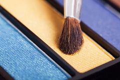 Makeup brush. Close up of makeup brush Royalty Free Stock Photo