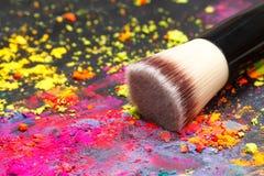 Makeup brush Royalty Free Stock Images