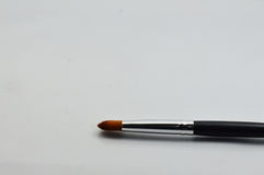 Makeup Brush Isolated Stock Images