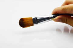 Makeup Brush Isolated Stock Photos