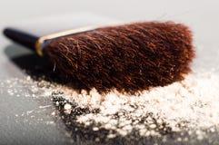 Makeup Brush Macro Royalty Free Stock Images