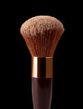 Makeup Brush and Powder Stock Photo