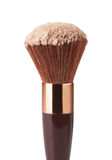 Makeup Brush and Powder Royalty Free Stock Photography