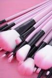 Makeup Brush Set Stock Photography