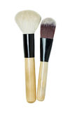 Makeup brush set Stock Photos