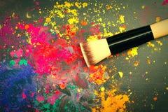 Makeup brush Royalty Free Stock Image