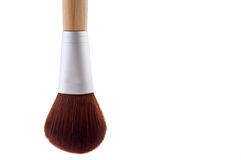 A makeup brush on white Royalty Free Stock Image