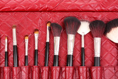 Free Makeup Brushes Stock Photography - 17563592