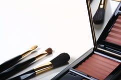 Makeup brushes Stock Image