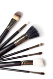 Makeup Brushes Royalty Free Stock Photography