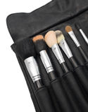 Makeup brushes for face Stock Images
