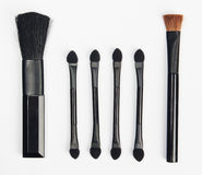 Makeup brushes set Stock Photos