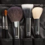 Makeup brushes set Stock Photos