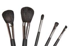 Makeup brushes set Stock Images
