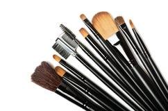 Makeup brushes set Royalty Free Stock Images