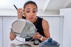 Makeup business woman Royalty Free Stock Photos
