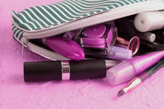 Makeup case Stock Photo