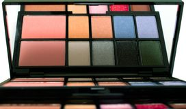Makeup closeup Royalty Free Stock Images