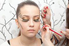 Makeup Royalty Free Stock Photos