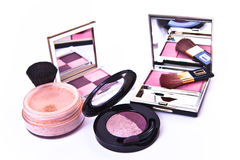 Makeup collection Royalty Free Stock Photo