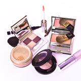 Makeup collection Stock Photo