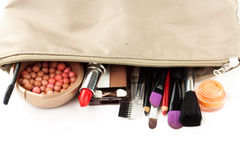 Makeup collection Royalty Free Stock Image