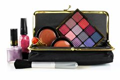 Makeup collection Stock Photos