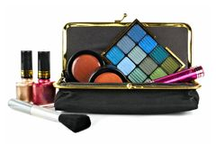 Makeup collection Stock Photography