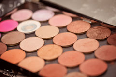 Makeup color palette Stock Photos