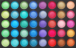 Makeup color palette Royalty Free Stock Photos