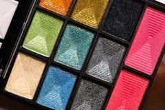 Makeup compact shadow set Royalty Free Stock Photos