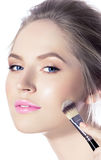 Makeup. Cosmetic. Base for Perfect Make-up Royalty Free Stock Photo