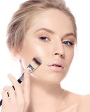 Makeup. Cosmetic. Base for Perfect Make-up Royalty Free Stock Photography